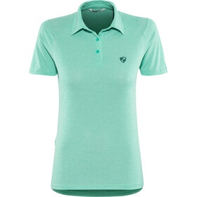Ziener Clemenzia Polo Shirt Damen mermaid melange